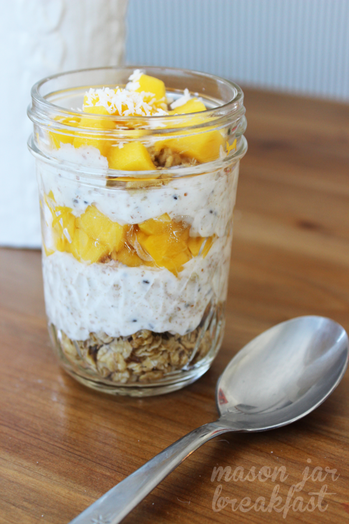 Mason Jar Yogurt