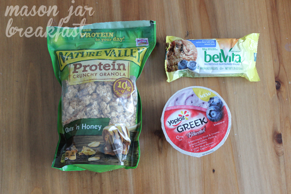 blueberry Belvita Biscuits & yogurt ingredients