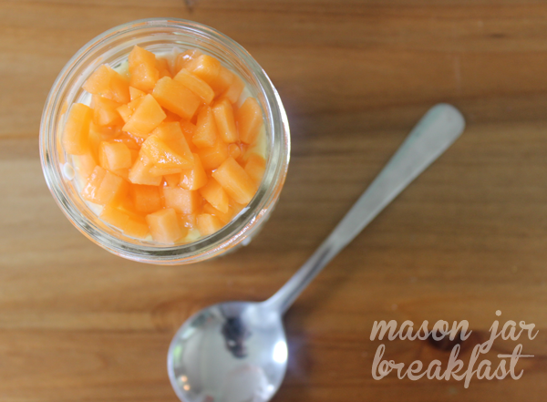 apricot and honey Greek yogurt parfait